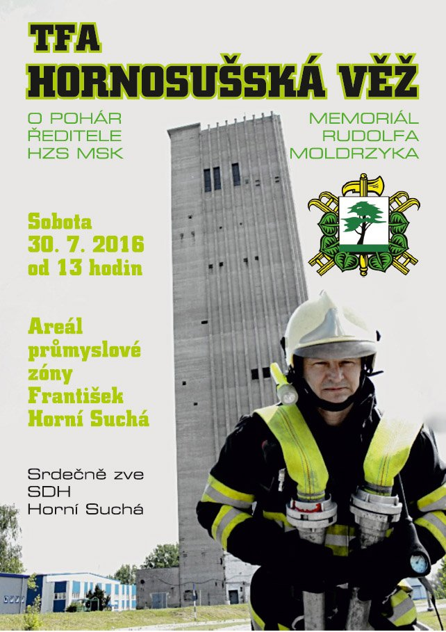 HORNOSUŠSKÁ VĚŽ 2016, MEMORIÁL RUDOLFA MOLDRZYKA