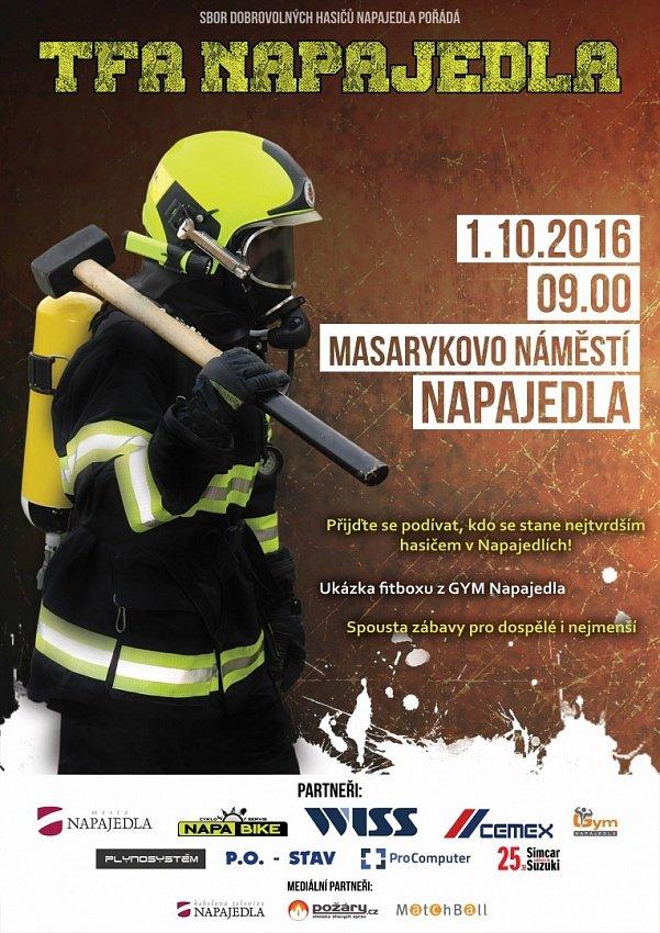 Soutěž TFA Napajedla přivítá závodníky první říjnový den roku 2016